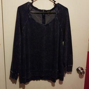 Torrid sz 0 acid wash sweatshirt